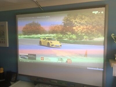 """77"""" Smartboard Interactive & Projector Screen - Rogerstone NP10 9NQ Collect"""