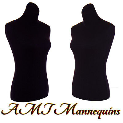 2 nylon covers, to renew male female mannequin toros, size M, 2 Black Jerseys