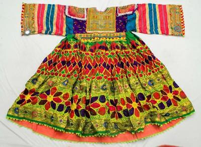 Banjara Tribal Ethnic Kuchi Belly Dance Embroidery Old Dress Choli Top Tunic