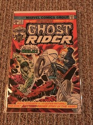 Ghost Rider Marvel Comic Number 10