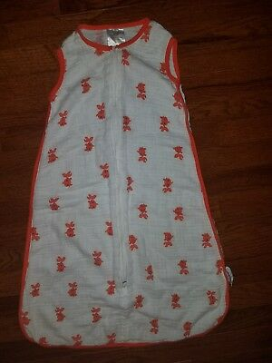 Aden Anais Goldfish Sleep Sack Medium 6-12months 15-24 Lbs