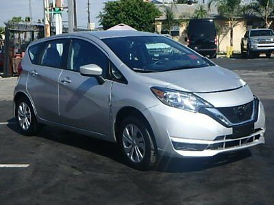 2017 Nissan Versa Note SV 2017 Nissan Versa Note SV Wrecked Repairable Only 2K Mi Gas Saver Nice Project!