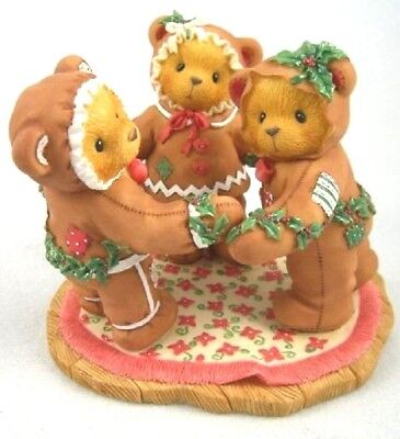 """Cherished Teddies """"missy Cookie Riley"""" Gingerbread #352586 New *  Free Shipping"""