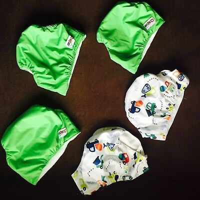 Baby Nappy Cover Newborn Adjustable Reuse Clothe Wrap Diapers Infant Soft