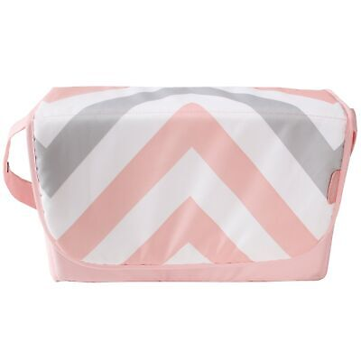 My Babiie Baby Changing Bag / Mat For Stroller / Pram / Pushchair - Pink Chevron