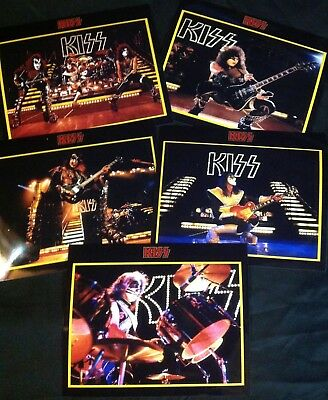 1977 KISS Army Press Kit Promo Alive II Photos, Ace Peter Paul Gene