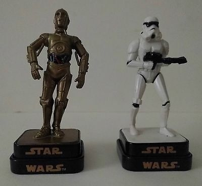 Darth Vader and C3PO Figure Stamps.
