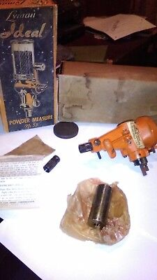 Vintage Lyman Ideal Powder measure No. 55 in box w/ Directions