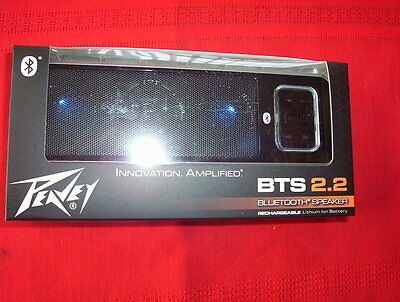 Peavey BTS 2.2 wireless bluetooth  speaker with rechargeable lithium battery