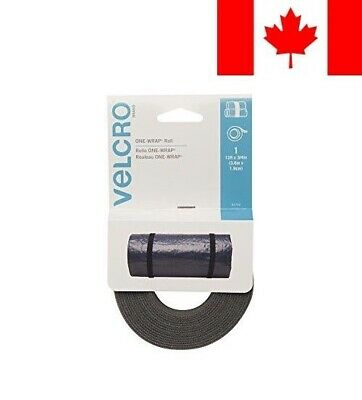 VELCRO Brand-One-Wrap: for Cables, Wires and Cords-12-Feet X 3/4-Inch Roll-Folia