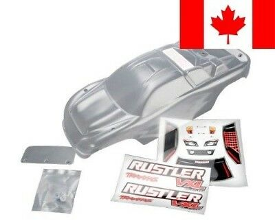 Traxxas 3714 Clear Body, Rustler VXL