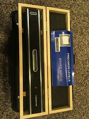 "12"" Master Precision Level For Machinist Tool New .0005"