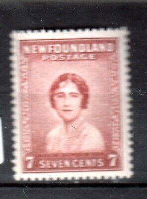 NEWFOUNDLAND STAMP, UC#208, 7c Duchess of York, VF  NH OG.