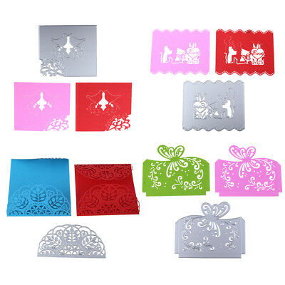 Metal Cutting Dies Stencil DIY Scrapbooking Photo Album Paper Card Crafts Gift