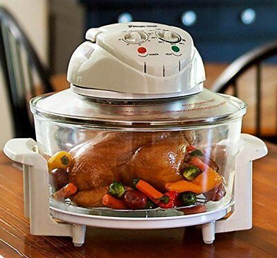 EWave Turbo Glass 3 Gal Infrared Convection Counter top Oven Grill Stove Roaster