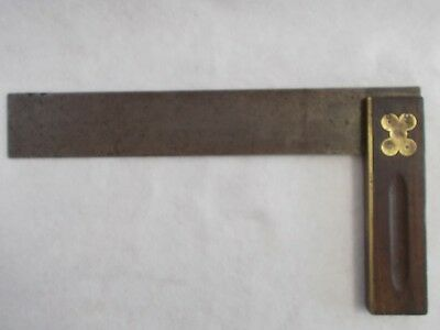 Vintage Henry Disston & Sons Large Rosewood Handle Square