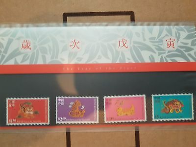 Hongkong Post Lunar New Year special stamps. Year of the Tiger 1998