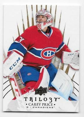 14/15 UPPER DECK TRILOGY BASE Hockey (#1-50) U-Pick From List