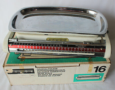Vintage Retro Stube Feintarierung Kitchen Scale West Germany