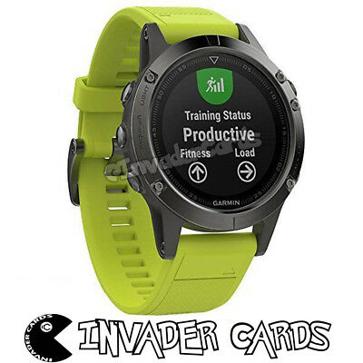 Garmin Fenix 5 Multisport GPS Outdoor Navigation HR Fitness Sport Wrist Watch