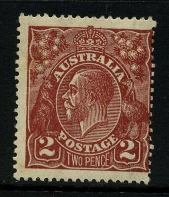 KGV Head Single Wmk 2d Brown MUH SG 78 #8319
