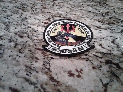 "Uss Enterprise Cvn -65 Cvw-1 ""oif/oef"" 2003-2004 Deployment Cruise Patch"