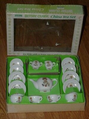 Vintage Chilton - Betsey Clark - China Tea Set with Original Box - Made in Japan