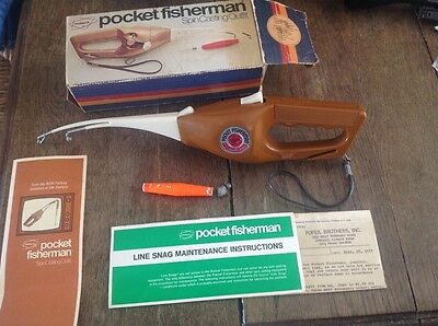 Popeil's Pocket Fisherman fishing vintage collectables