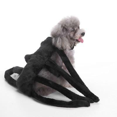 Spider Cosplay Pet Dog Cat Halloween Costumes Puppy Dress Up Coat Clothes Puppy