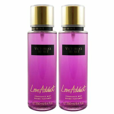 Victoria Secret Love Addict 2 x 250 ml parfümiertes Bodyspray Set