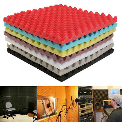 Acoustic Antiflaming Soundproof Sound Thick Absorption Pyramid Studio Foam Board