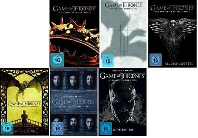 Game of Thrones Staffel 2-7 (2+3+4+5+6+7) DVD Set NEU OVP