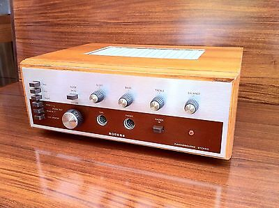 Fully serviced and checked vintage Rogers Ravensbourne amplifier 1969