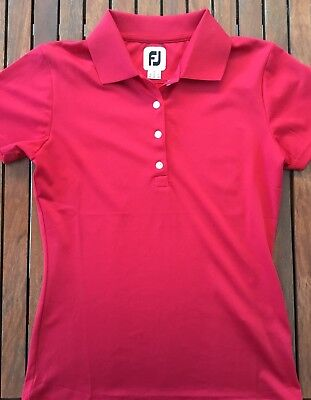 FOOTJOY Women's Golf Polo Shirt Top Size Small
