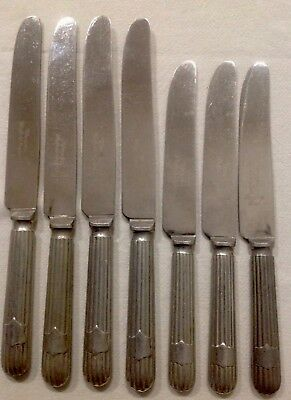 Collection Of Vintage Knives- 4 Dinner & 3  Entree Knives - Warranted, Sheffield