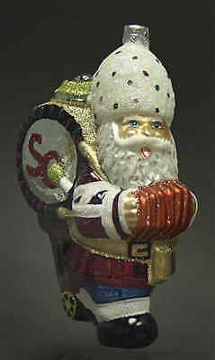 Slavic Treasures SANTA BAND LEADER Ornament 2048711