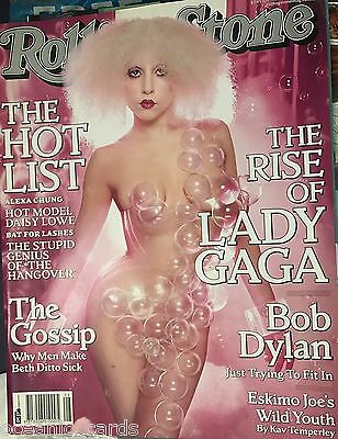 Rolling Stone Magazine Featuring Lady Gaga August 2009