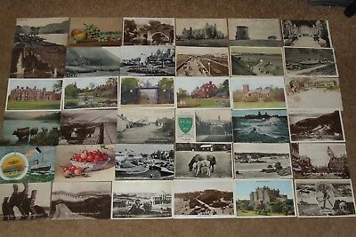 Collection job lot topographical & other vintage postcards lot 3