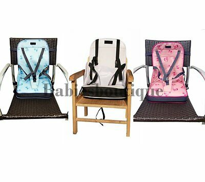 Portable Baby Dinning Booster Seat Travel High Chair Light Weight Foldable