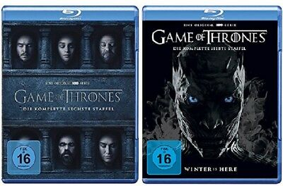 Game of Thrones Staffel 6+7 Blu-ray Set NEU OVP