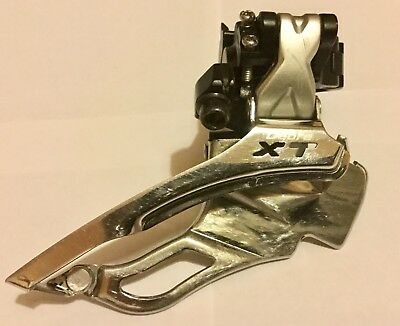 Shimano Deore XT Front Derailleur FD-M771 : 9-speed - Dual Pull design - 34.9mm