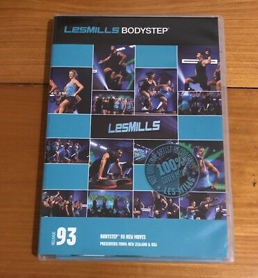 Les Mills BodyStep 93 Covers DVD and CD Pack PPCA free