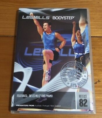 Les Mills BodyStep 82 Covers DVD and CD Pack - PPCA free
