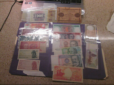 Lo Of 28 World Banknotes 1908-Present