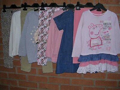 NEXT TU Peppa Pig Minnie Mouse etc Girls Bundle Jeans Tops Dress Age 3-4 104
