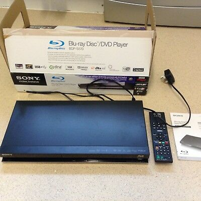 Sony blu-ray disc/dvd player BDP-S570
