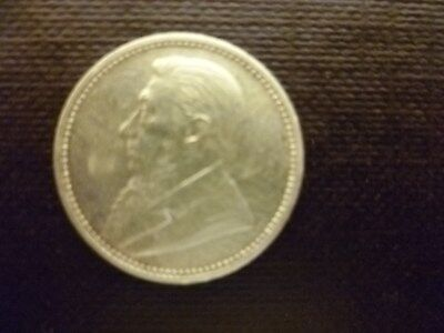 1896  Zar  South Africa  Sixpence
