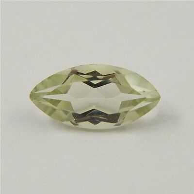 3 cts Natural Green Amethyst Gemstone Must See Loose Cut Faceted R#192-1