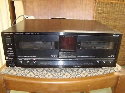 Technics RS-X980 Stereo HiFi Double Cassette Tape Deck Recorder-Top of the range