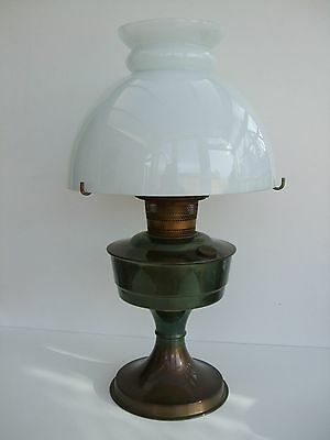 Vintage Aladdin 23 Lamp, Opaque White Bowl